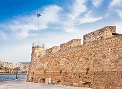 Крепость в порту Ханья