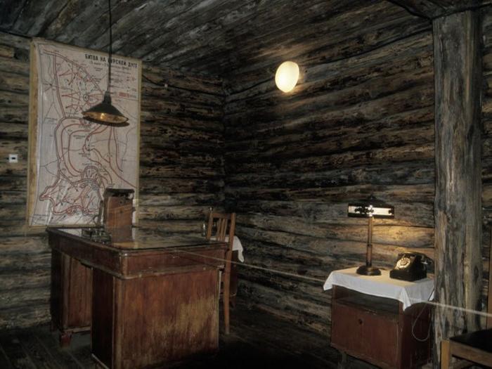 Фото экспозиции Фатежского краеведческого музея