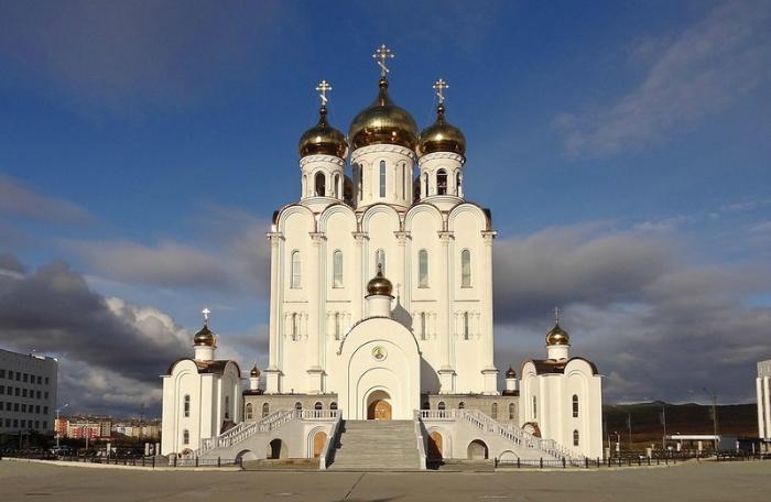 Свято-Троицкий собор, Магадан