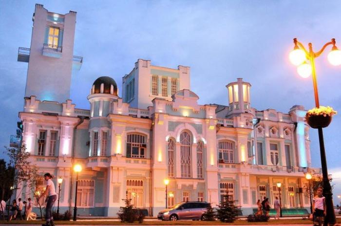 Здание Дворца бракосочетаний
