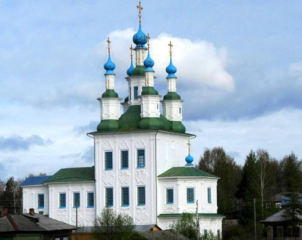 Церковь Троицы в Зеленской (Рыбачьей) слободе