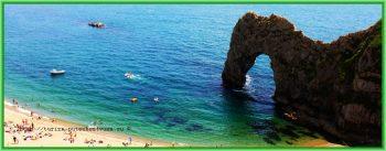 Борнмут Великобритания - пляж на побережье