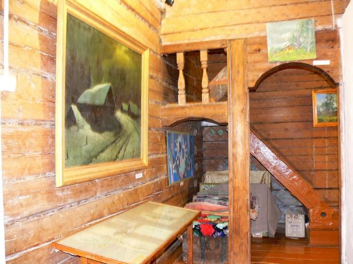 Дом-музей В.М. и А.М. Васнецовых в селе Рябово