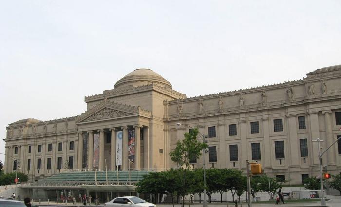 Бруклинский музей в Нью-Йорке
