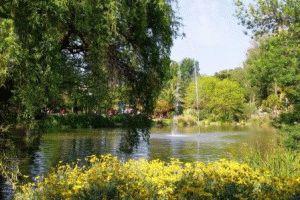 Город Йер Hyeres Франция парк фото