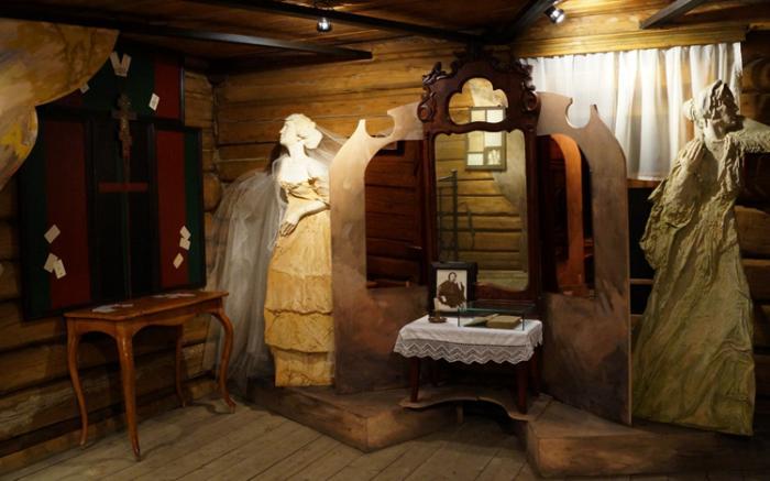 В музее Достоевского