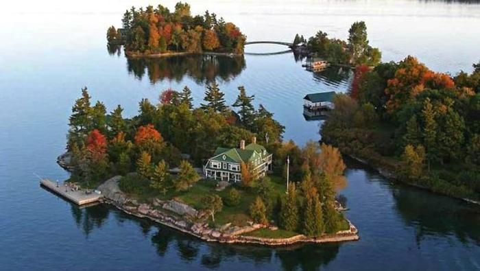 Парк Тысяча островов в Канаде