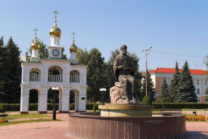 Архитектурный комплекс «Созидателям города», Тольятти