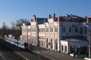 Калуга-1. Железнодорожная станция.