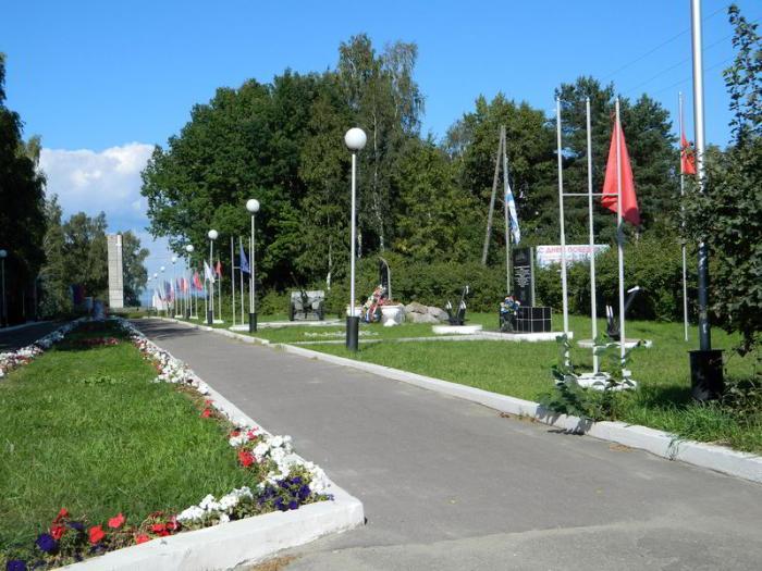 мемориальный парк юрьевца