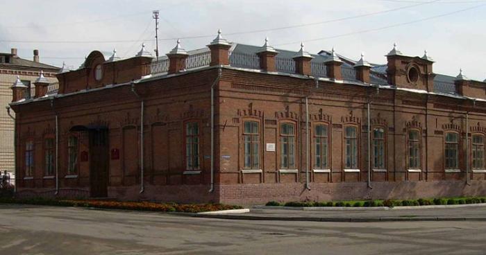 Шадринский краеведческий музей им. В.П.Бирюкова