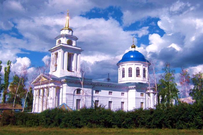 Церковь Михаила Архангела, 1823-1830 гг., с. Девица