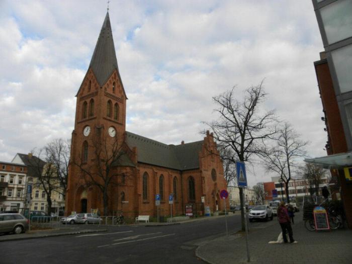 Церковь в Варнемюнде