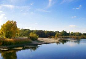 город Суровикино, река Чир
