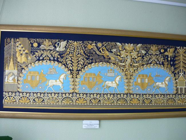 Образец искусства золотошвей