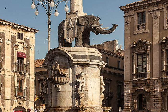 Катания (Catania), Сицилия, Италия