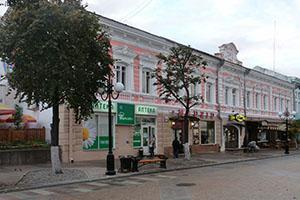 Московская улица. Пенза.