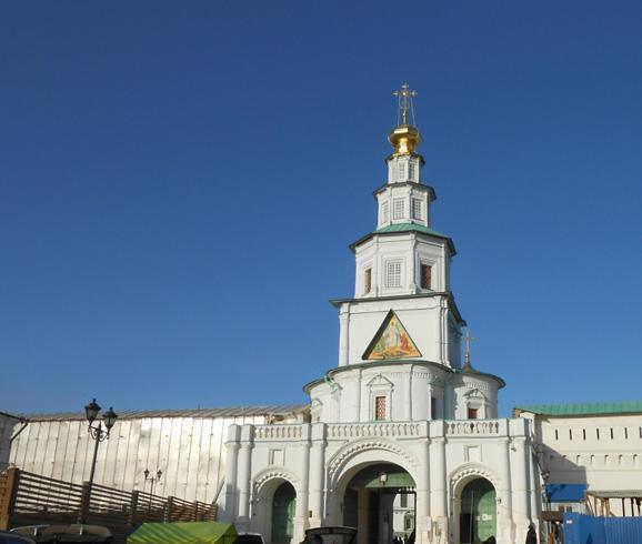 Надвратная церковь Входа Господня в Иерусалим