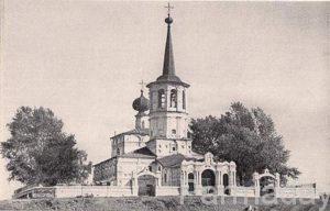 Ленвинская Троицкая церковь в Березниках