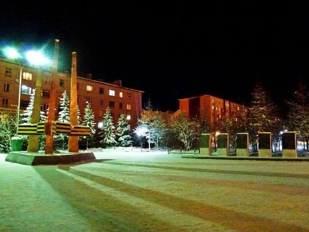 Площадь Победы, Лабытнанги