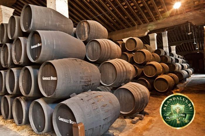 Херес де ла Фронтера: бочки с хересом в винодельческом хозяйстве Tio Pepe