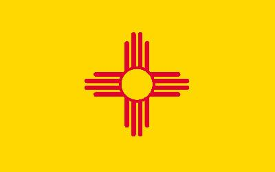 Флаг штата Нью-Мексико