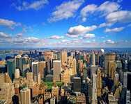 Центр Нью Йорка - район Манхэттен
