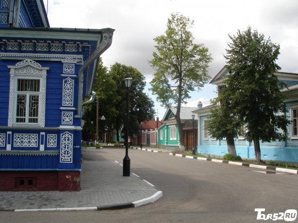 Улица в историческом центре
