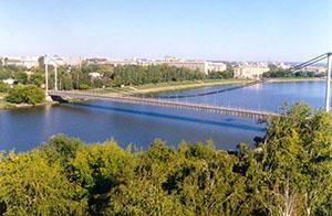 Пенза. Мост через Суру.