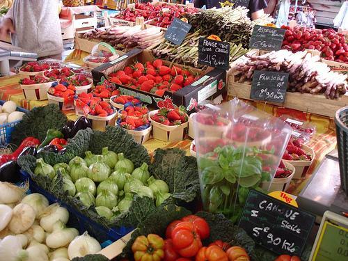 рынок в Антибе