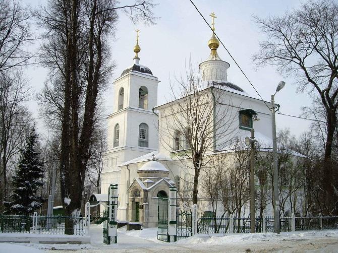 Церковь Владимирской иконы Божией матери в Химках