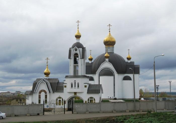 Храм Серафима Саровского, Набережные Челны