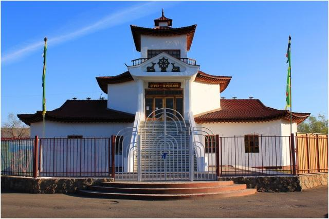 Буддийский храм Цеченлинг, Кызыл