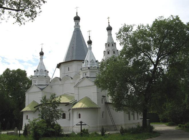 Церковь Троицы Живоначальной в Троицком