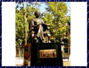 Памятник Шалом-Алейхему Биробиджан