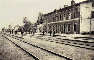 Вокзал. Начало XX в.