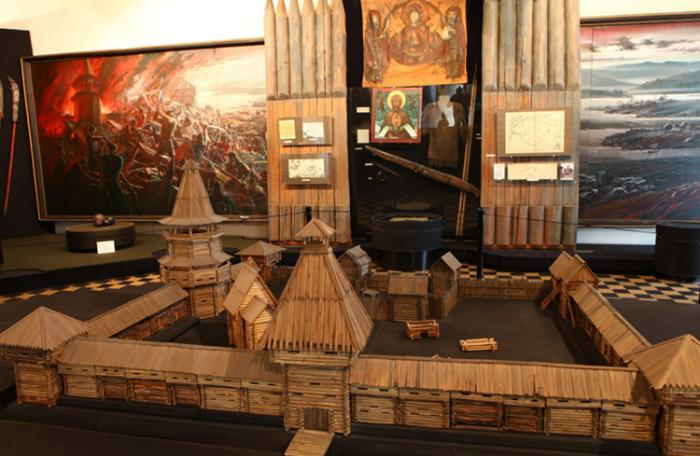 В краеведческом музее