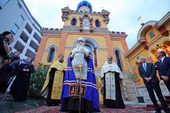 Церковь Пресвятой Богородицы и Николая Чудотворца в Ментоне