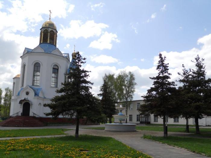 Фото старинной церкви в городе Дятьково Брянской области