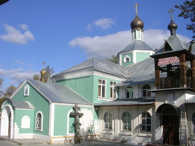 Храм Андрея Рублёва