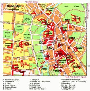 карта Кембриджа скачать