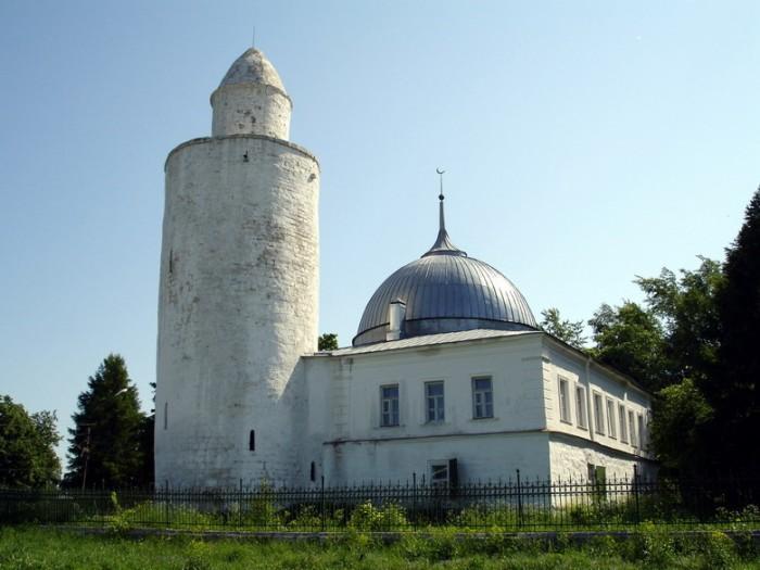 Мечеть с минаретом в Касимове