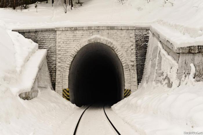 Железнодорожный тоннель около Лысьвы