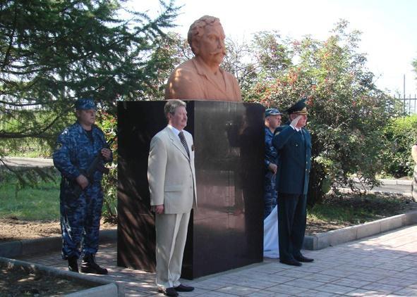 Памятник таможеннику Павлу Верещагину, Курган