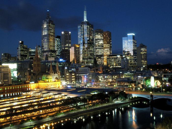крупные города австралии список