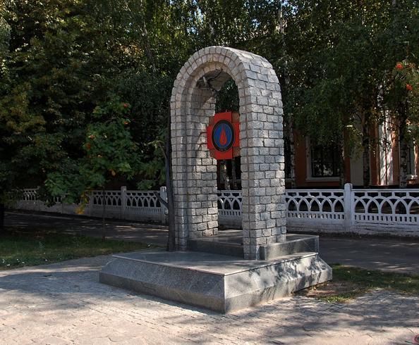 Памятник ликвидаторам-чернобыльцам