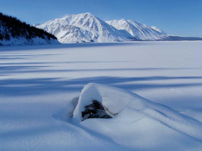 Фотография Юкон зимой