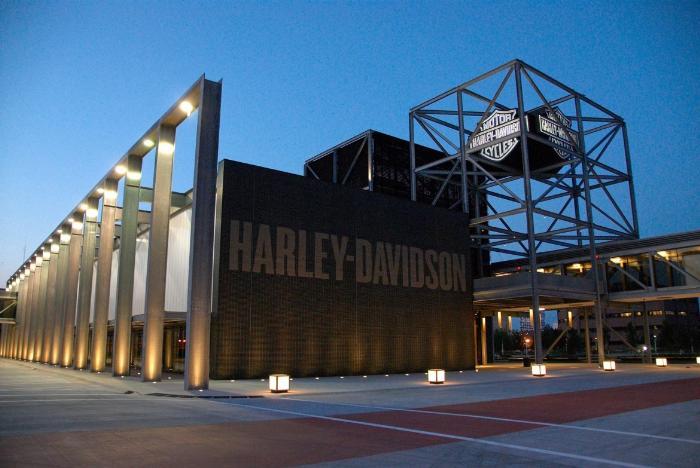 завод Харлей Девидсон в Канзас-Сити