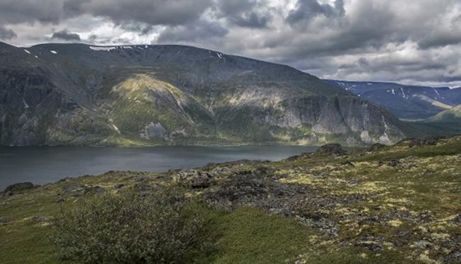 Гора Вудъяврчорр