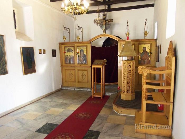 Храм Вознесения внутри